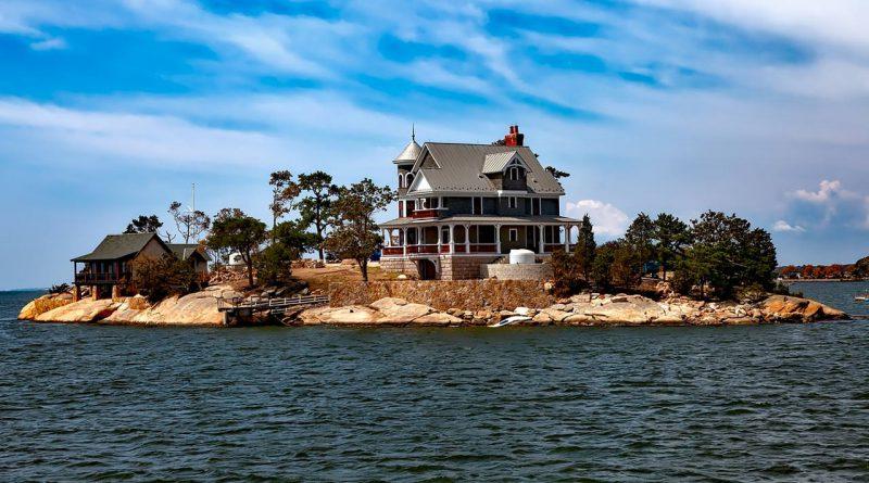 maison bord ocean