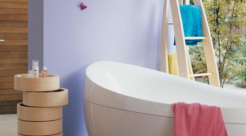 salle de bain pastel